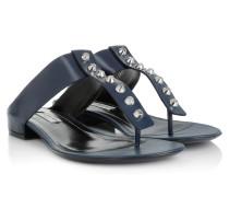 Sandalen - AMP Studs Flat Toe Sandale Dark Blue