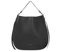 Hobo Bag Borsa Pelle Vitello Noir