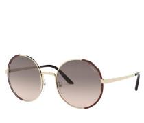 Sonnenbrille Women Sunglasses Conceptual 0PR 59XS Pale Gold/Brown