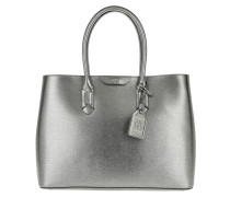 Tate City Tote Antique Silver