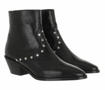 Boots & Stiefeletten Tyler - Vintage Patent Flat Studs