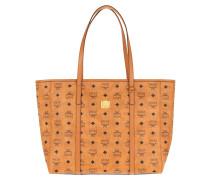Shopper Toni Visetos Medium Cognac