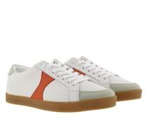 Sneakers Triomphe Sneaker Leather White Orange