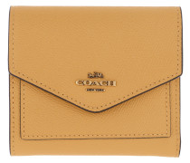 Portemonnaie Crossgrain Leather Small Wallet Sunlight