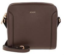 Keta Shoulder Bag Squaresized Dark Brown Umhängetasche braun