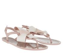 Sandalen Thong Sandal Nude Milk/White