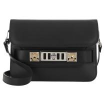Umhängetasche PS11 Mini Classic Crossbody Bag Calfskin Black