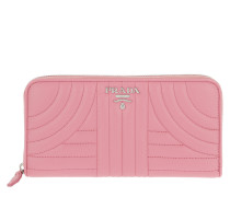 Classic Zip Wallet Saffiano Leather Begonia