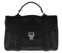 Satchel Bag PS1 Medium Crossbody Lamb Leather Black