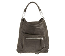 Tasche - Hitachi Double Dye Hobo Bag Greyish - in braun