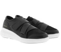 Tilly Velcro Strap Slip On Black Sneakerss schwarz