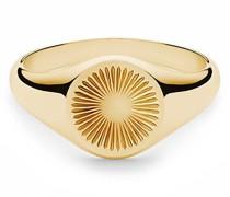 Ringe Solar Signet Ring Vermeil