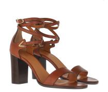 Sandalen Crecy Sandals Calfskin Tan