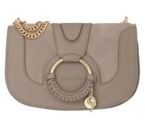 Umhängetasche Hana Crossbody Bag Leather Motty Grey