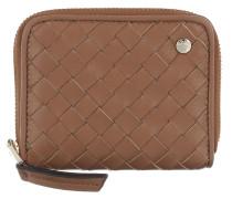 Portemonnaie Piuma Wallet Leather Cuoio