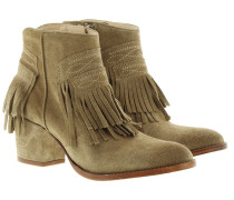 Boots & Booties - Molly Franges Bootie Taupe