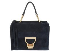 Arlettis Suede Shoulder Bag Bleu Umhängetasche