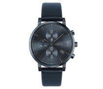Uhr Men Chronograph Integrity Blue