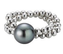 Ring Cultured Tahiti Pearls Silver