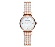 Uhr Gianni T-Bar Watch White