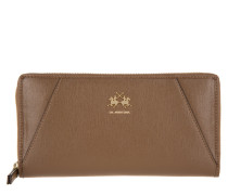 Kleinleder - La Portena Long Size Wallet Brown