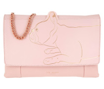 Barki Linear Dog Umhängetasche Bag Light Pink