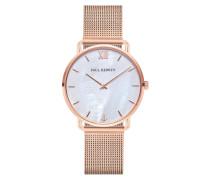 Uhr Watch Miss Ocean Line Pearl Mesh Strap Rosegold
