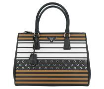 Tasche - Saffiano Lux Galleria Bag Nero/Caramel