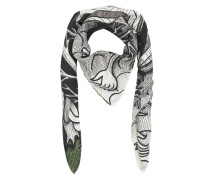 The Moth-Strength Print Scarf Multicolor Schal