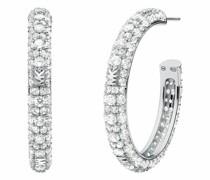 Ohrringe Women's Sterling Silver Hoop Earring MKC1495AN040