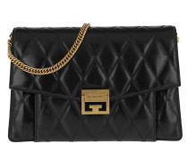 Satchel Bag Medium GV3 Leather Black