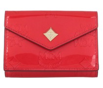 Portemonnaie Metallic Patent New Mini Card Wal Red