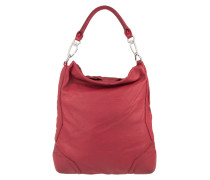 Tasche - Tokio Vintage Hobo Bag Cherry Blossom Red