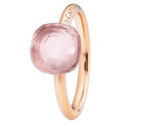 Ring Happy Holi Rose Quartz Cabochon Rosegold