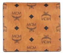 Portemonnaie Visetos Original Tri Fold Flap Wallet Cognac