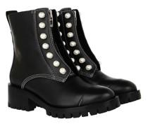 Boots & Stiefeletten Hayett Lug Sole Zipper Boot With Pearls