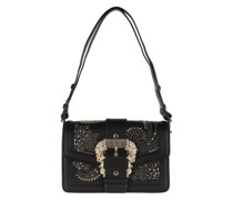 Satchel Bag Couture Pouchette Leather Nero