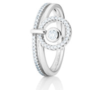 Ring Glam Motion White Gold