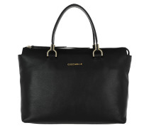 Keyla Tote Shoulder Bag Black