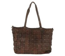 Patchwork Shopping Bag Grande Moro Umhängetasche