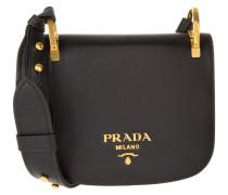 Tasche - Pionniére Pattina City Calf Crossbody Bag Nero