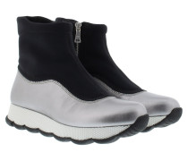 Sneakers - Wave High Shaft Sneaker Chrome