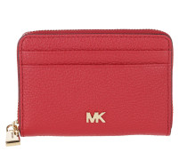 Portemonnaie Mott Ziparound Coin Card Case Bright Red