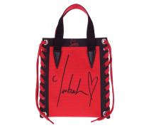 Tote Cabalace Mini Bag Canvas Loubi/Black