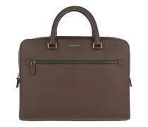 Harrison Medium Briefcase Mocha Herrentasche braun