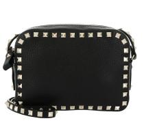 Rockstud Camera Bag Grained Black