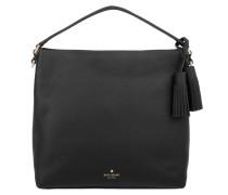 Orchard Street Small Natalya Hobo Bag Black