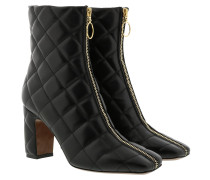 Boots Ankle Boot Zip Nappa Black