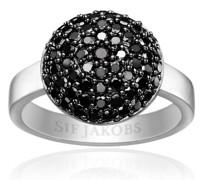 Ring Milan Piccolo Black Zirconia