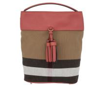 Ashby Canvas Check Medium Tassel Hobo Cinnamon Red Bag rot